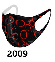Dolcezza Mask - Black Red - 2009