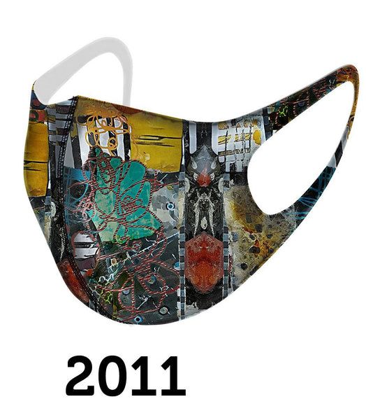 Dolcezza Mask - Multicolor Artistic - 2011
