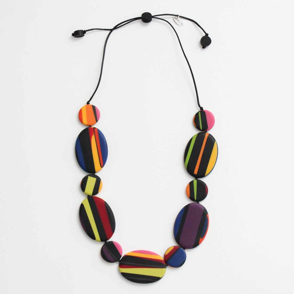 Sylca Multi Color Darcy Necklace - AE19N51