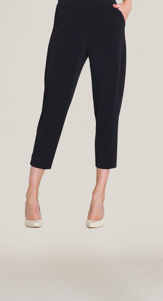 Clara Sunwoo CBP20 - Black Crop Knit Pocket Pant