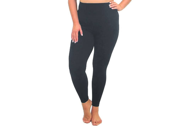Elietian Legging PLUS Full - Black