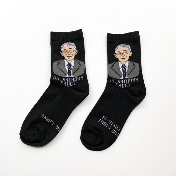 Maggie Stern Socks - Dr. Fauci