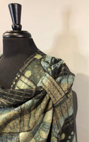 Rapti #9 Reversible Cashmere Buckle Shawl