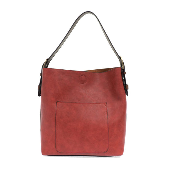 Joy Susan Hobo Bag - Adobe Red L8008-76