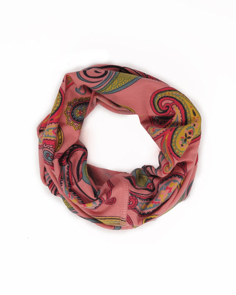 Powder UK Multiway Band - Paisley - Pale Pink - MUL4