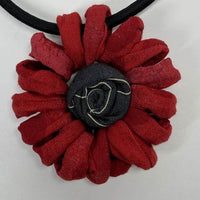 Ficklesticks Mum Necklace - Red - N120-Red