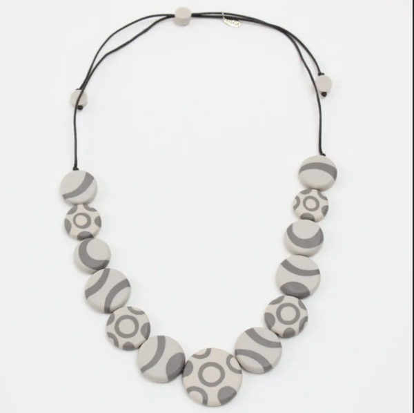 Sylca Grey Vivian Necklace