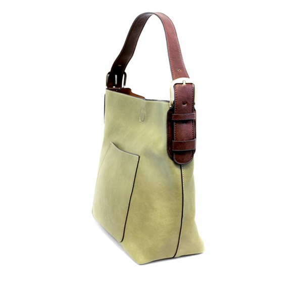 Joy Susan Classic Hobo Bag - Guilford Green/Brown L8008-03