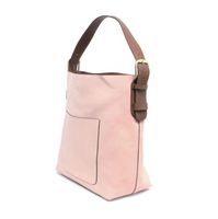 Joy Susan Hobo Bag - Rosewater/Coffee L8008-24