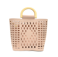 Joy Susan Madison Cut Out Tote - Light Pink L8058-24