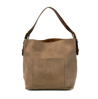 Joy Susan Classic Hobo Bag - Dark Flax/Brown L8008-25