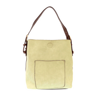 Joy Susan Classic Hobo Bag - Pistachio/Coffee L8008-70