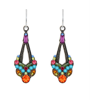 Firefly 6415MC Parisian Earrings Multicolor