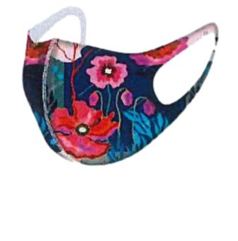 Dolcezza Mask 2062 Blue/Pink Floral