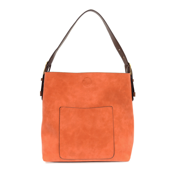 Joy Susan Hobo Bag - Terracotta/Coffee L8008-52