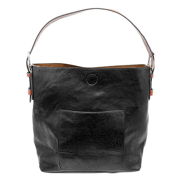 Joy Susan Hobo Bag - Black/Cedar L8008-00