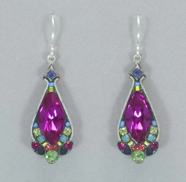 Firefly 6892-MC Earrings Multicolor
