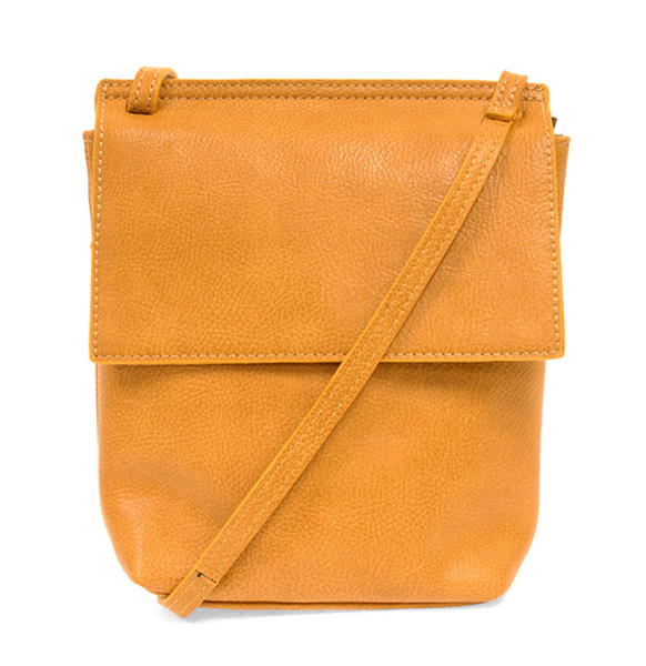 Joy Susan BUTTERSCOTCH Aimee Front Flap Crossbody L8060-16
