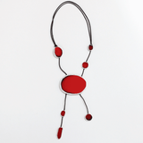 Sylca Adrianne Necklace - Red