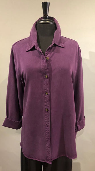 Pulp Button Down Shirt - Majestic Purple