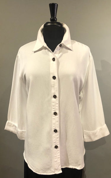 Pulp Button Down Shirt - White