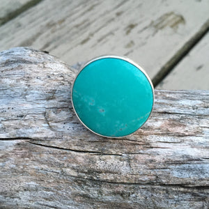 Compass Mine Turquoise Ring