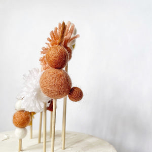 Easter Rabbit Cake Toppers