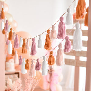Boho party garland by The Little Shindig Shop