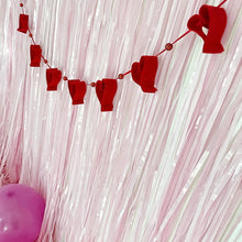 Load image into Gallery viewer, Valentine's Day party decorations by The Little Shindigshop