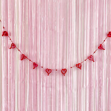 Load image into Gallery viewer, Valentine's Day party garland decorations by The Little Shindigshop