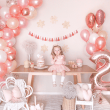 Load image into Gallery viewer, rose gold party decorations tassel garland The Little Shindig Shop