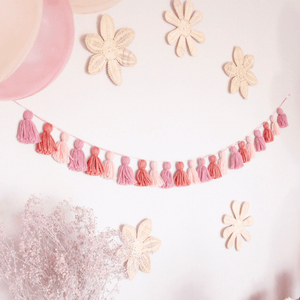 tassel party garland by The Little Shindig Shop
