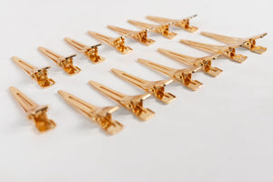 IBE Gold Weft Clips