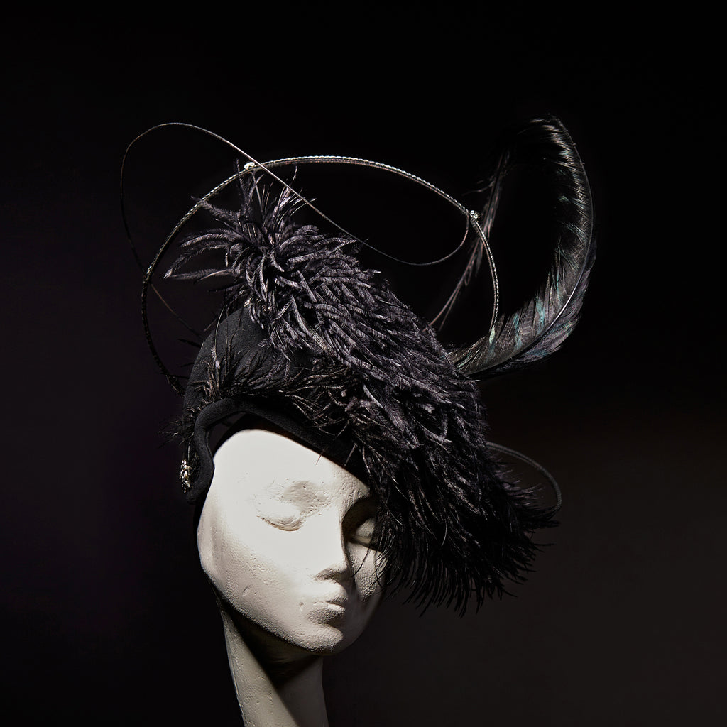 Edwardiana- Ostrich percher