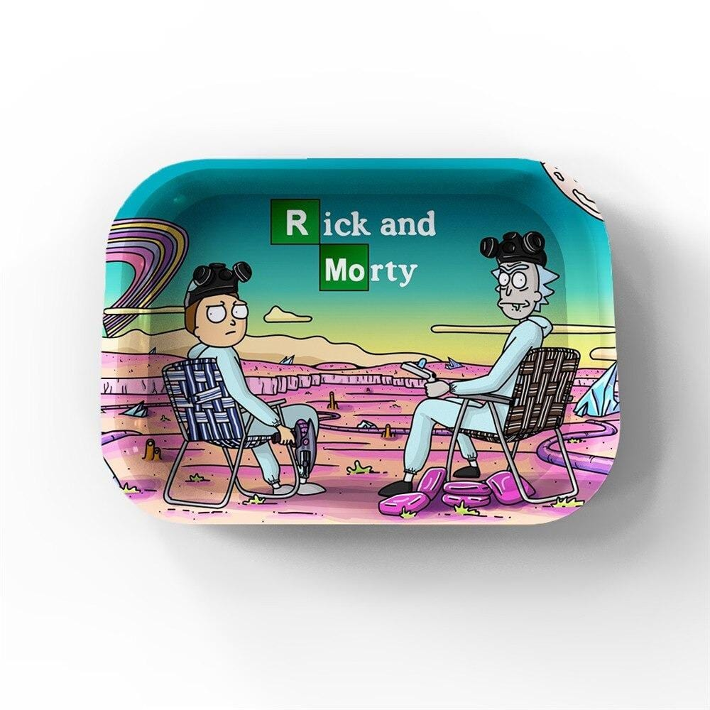 Plateau de roulage  - Rick et Morty <br> Breaking Bad