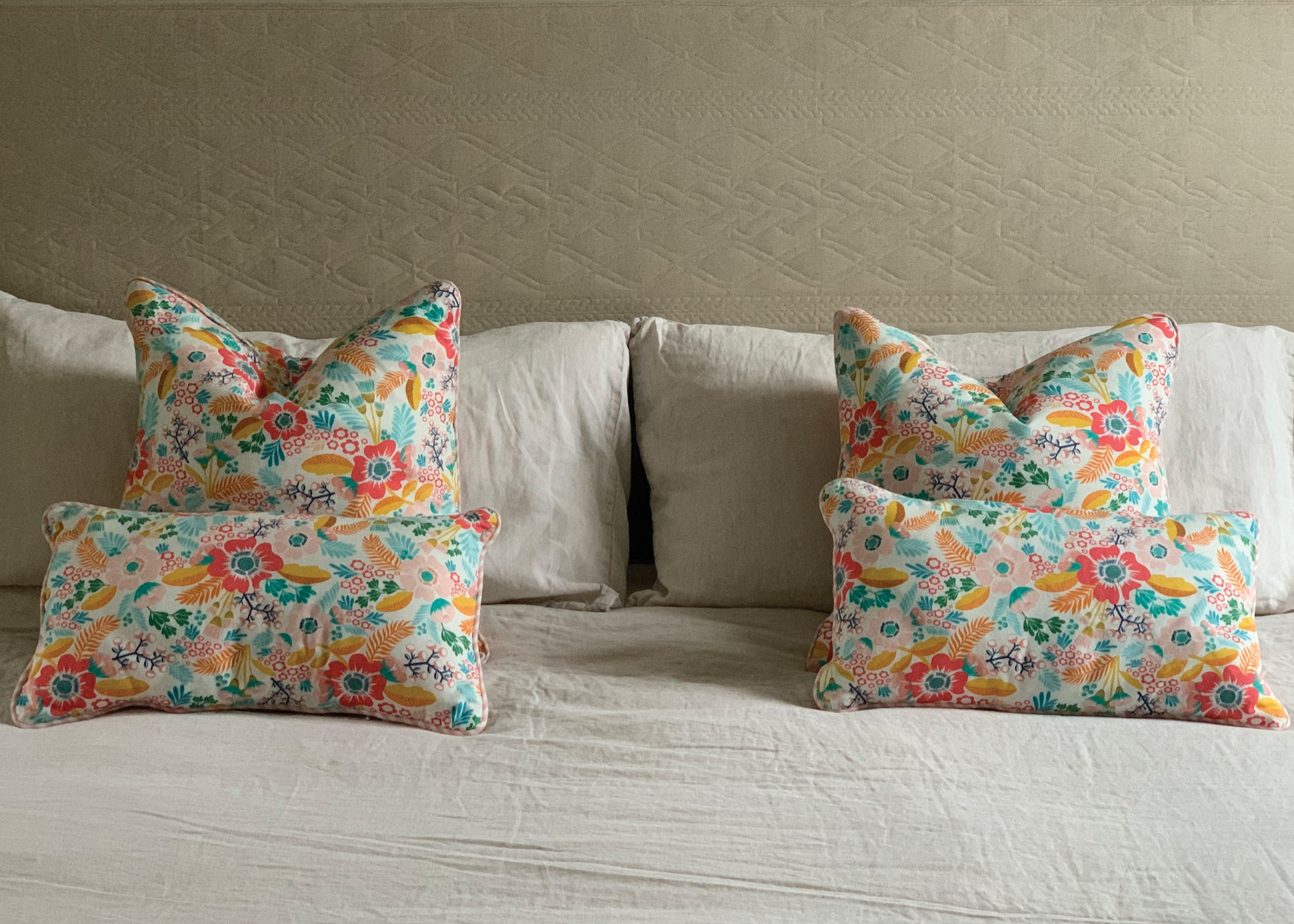 Floral Cushion - Square