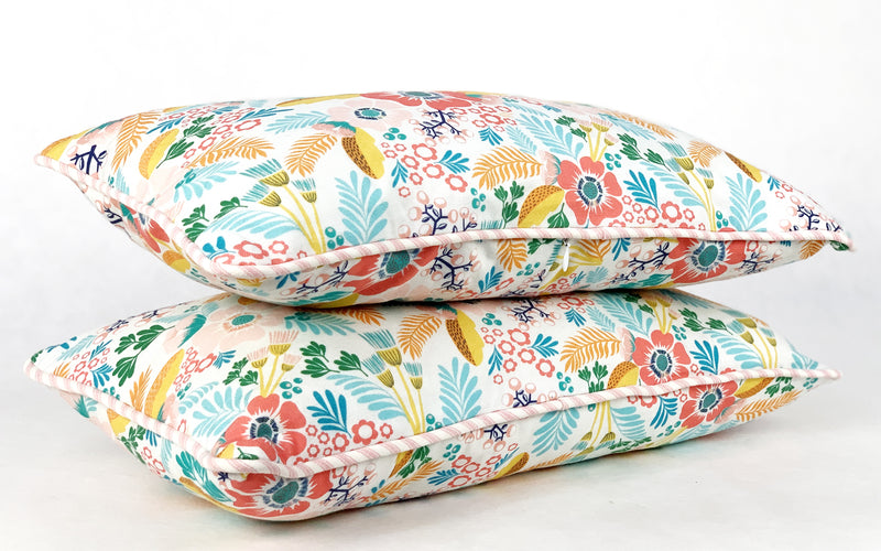 Floral Cushion - Rectangle