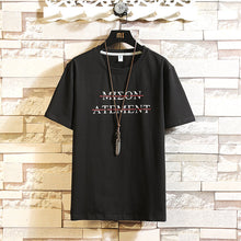 Load image into Gallery viewer, Custom Print T-shirt Mmen Knitted Round Collar and Soft Sleeve in Summer Clothing Men's    MYY1156