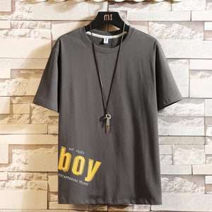 Mens Clothes Custom Printed T Shirt  Cotton T Shirt Short Sleeve T-shirts  MYY1118