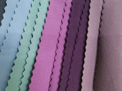 Double Sided High Elastic Lycra Fabric 82%Polyester 18%Spandex