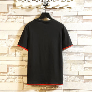 High Quality Wholesale Cheap Cotton Mens T-shirt Fashion Printed T-shirt China Style Men's Short T- shirt   MYY2005