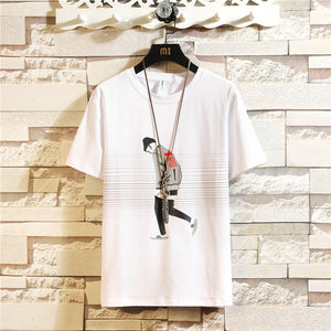 Wholesale New  Design Cheap Men T Shirt 95% Cotton 5%Spandex Printing Men Fashion T Shirt  MYY1015