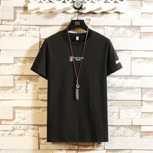 Load image into Gallery viewer, Wholesale Mens  Short Sleeve T shirt 95% Cotton 5%Spandex T shirt   High Quality Plain Custom Logo Printed T shirts   MYY1005