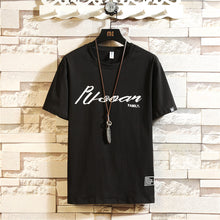 Load image into Gallery viewer, Wholesale Men's T Shirt 95% Cotton 5%Spandex Men's Cheap With Fashion Short  sleeve   MYY1013