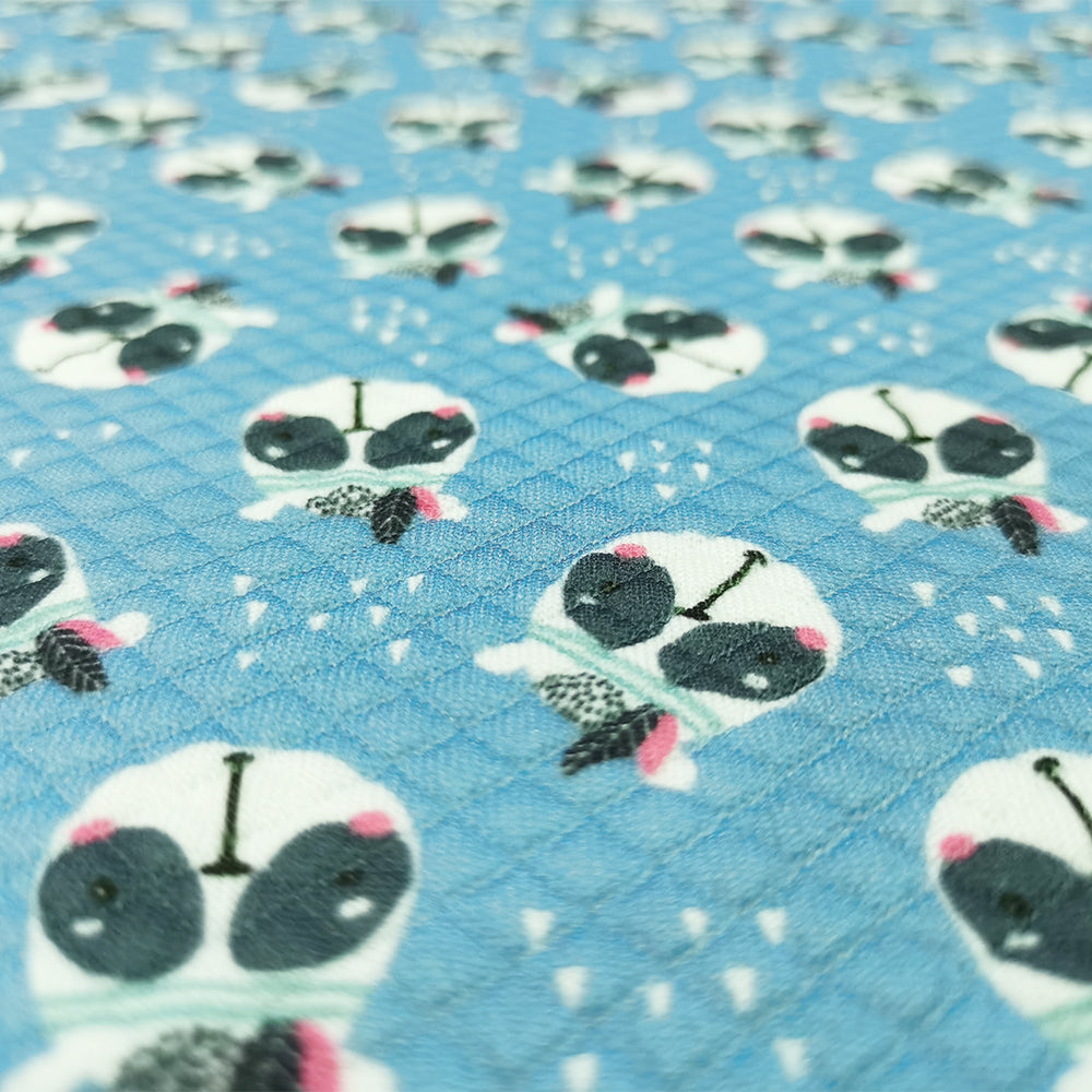 Bullet Fabric For Seamless pattern with cute panda face Cartoon panda 87952500