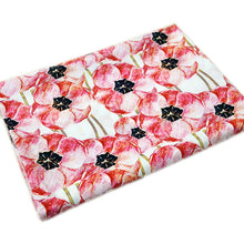 Load image into Gallery viewer, Cotton Poplin Fabric With Seamless Pattern Flowers 25520205