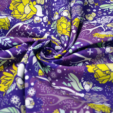 Load image into Gallery viewer, Cotton Poplin Fabric With Skull with floral ornament 31121159