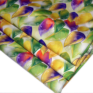 Cotton Poplin Fabric With Autumnal leaves 11891587