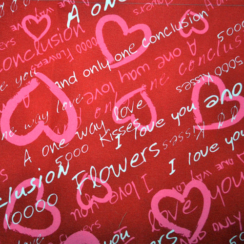 Chiffon Fabric With Valentine day vector seamless pattern 18872855