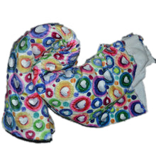 Load image into Gallery viewer, Minky DEC01 Fabric With Seamless pattern with hearts 25502732